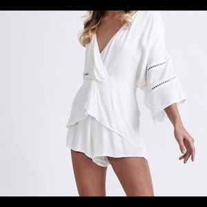 Other - MORRISSDAY The Label white romper